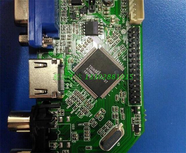 V69 LCD TV carte pilote M6V 5.1 carte de télévision numérique haute définition peut être inversé pour prendre en charge londe de terre DTMB