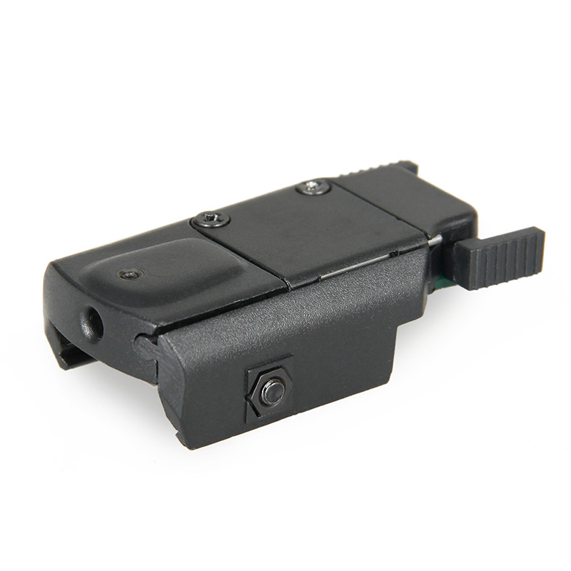 Ny Arrival Taktisk Rød Lasersikt Laser Pointer Med Switch For Jakt Airsoft Gun GS20-0035