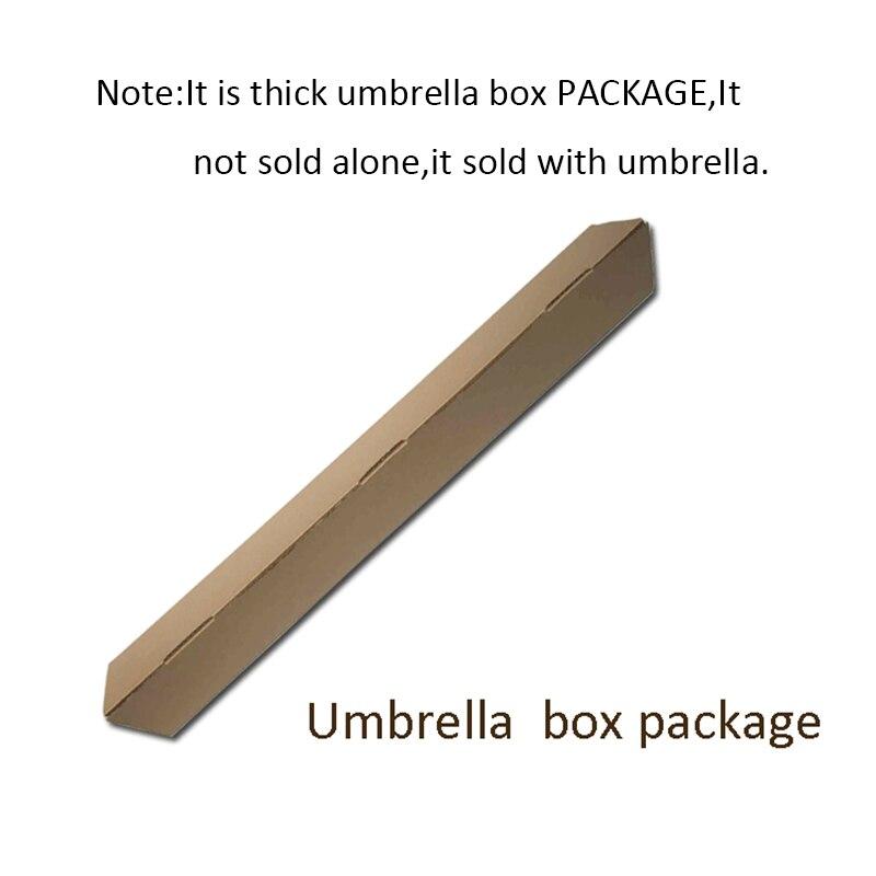 C ручкой ветрозащитный обратный складной зонтик для мужчин и женщин Защита от солнца дождь автомобиль перевернутый Зонты Двойной слой анти УФ Самостоятельная стойка Parapluie - Цвет: umbrella box package