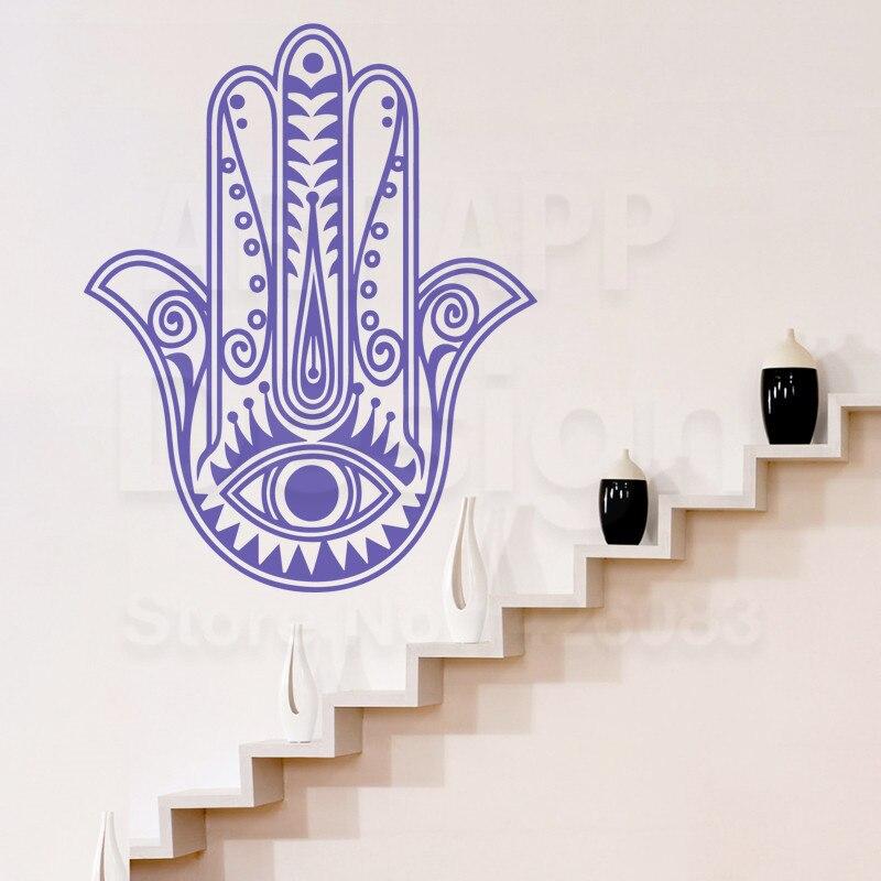Art Design Cheap Home Decoration PVC Religion Hamsa Hand