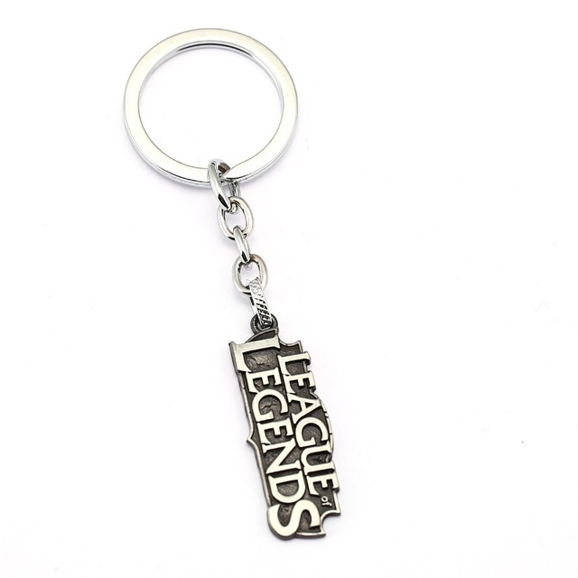 LOL Symbol Key Chain