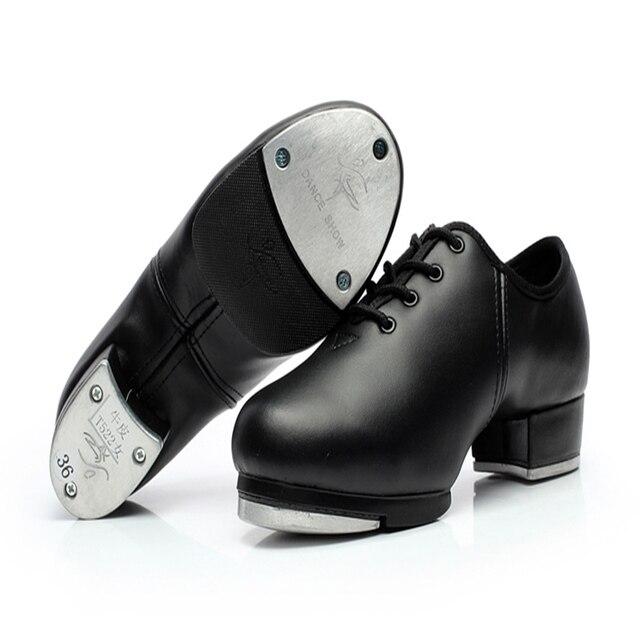 Verwonderlijk Mannen Schoenen Sneakers Sport Vrouwen lederen Tapdans Schoenen JU-19