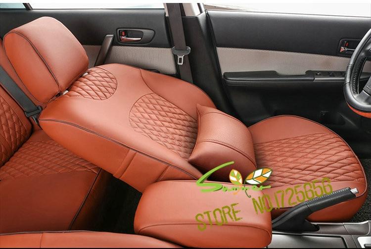 KIA FULL SET OF BLACK LEATHERETTE CAR SEAT COVERS Optima Pro Ceed Rio Sedona