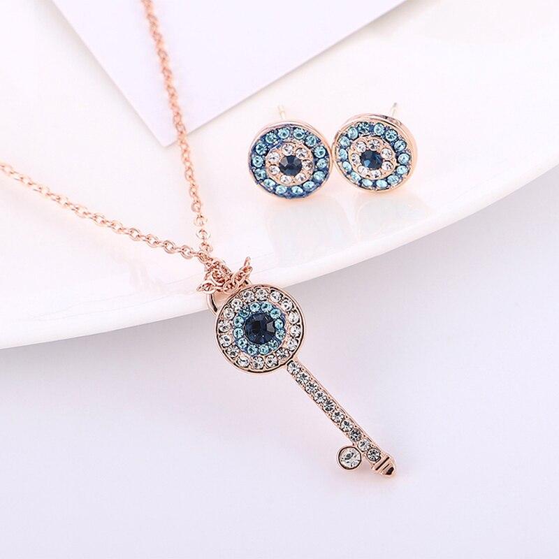 BAFFIN Pendant Necklace Stud-Earrings Swarovski-Jewelry-Sets Austria-Crystals Romantic