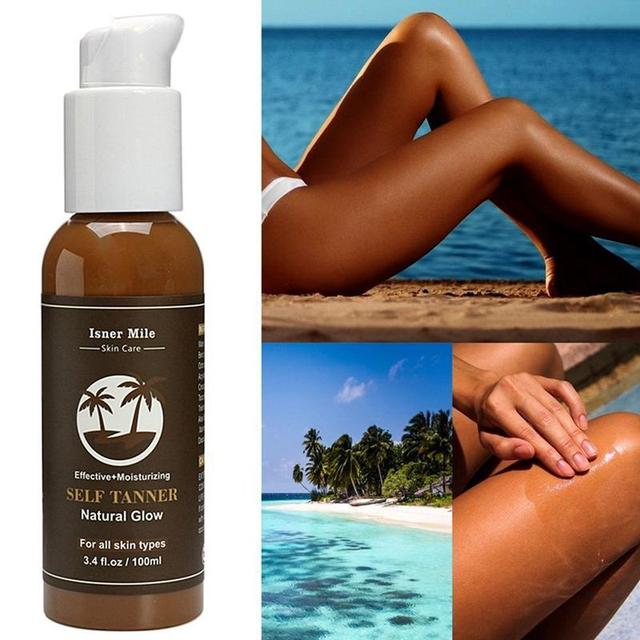 Suntan Cream Color Stay Bronze Self Sun Tan Tanning Enhance Day Tanning Cream Natural Bronzer Sunscreen Tanner Lotion Hot Sale