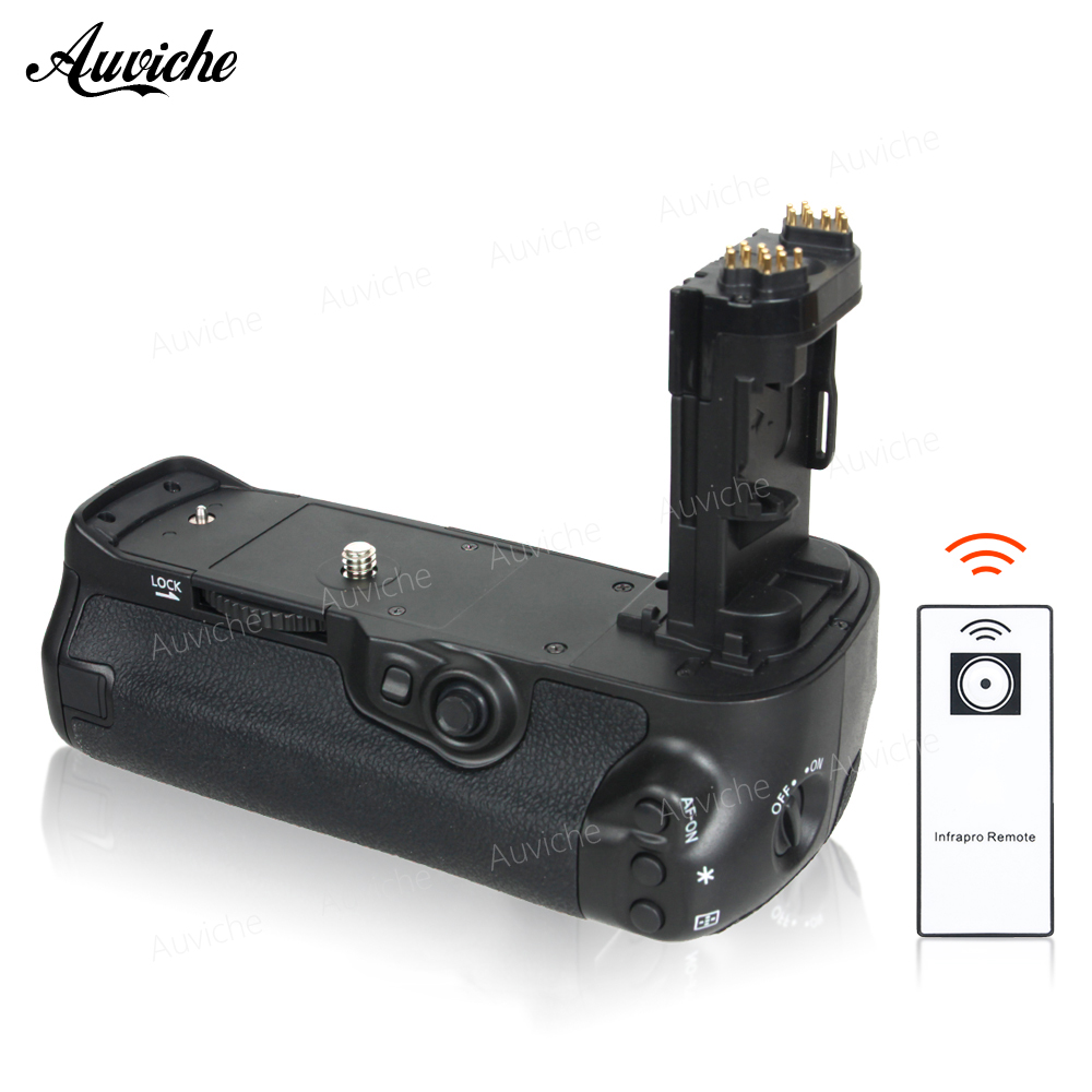 IR Remote Control Vertical Battery Grip BG-E16H for two LP-E6 battery or six AA batteries For Canon 7D mark II Camera mcoplus bg 7dr ii vertical battery grip with 2pcs lp e6 batteries for canon eos 7d mark 7dii camera 2 4g wireless remote control