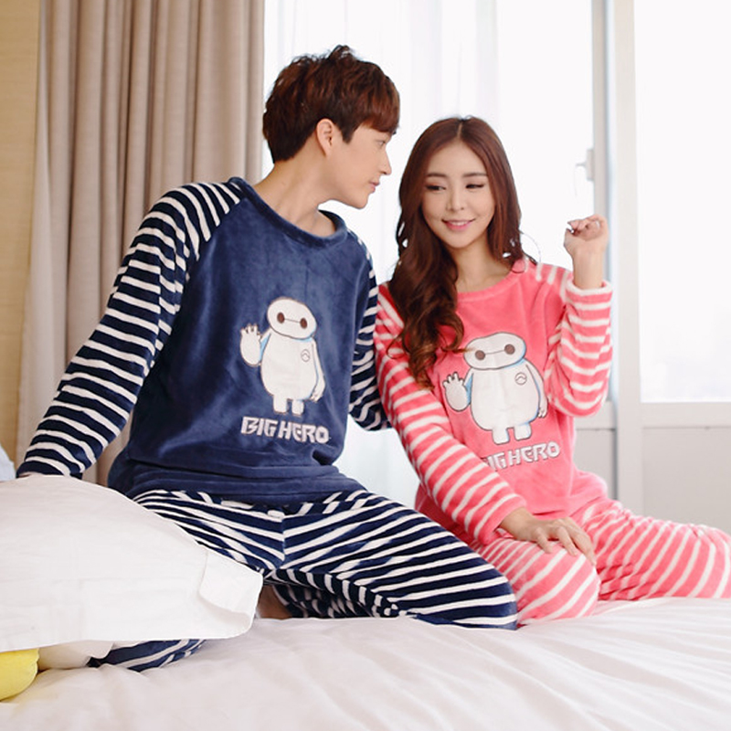 Aliexpress.com : Buy Autumn Winter Flannel Character Big Hero Cute ...