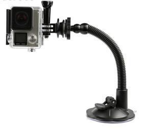 Image 4 - Вращающаяся на 360 градусов присоска LANBEIKA для Gopro Hero 9 8 7 6 5 Session DJI Yi 4K SJCAM держатель на присоске для автомобильного стекла