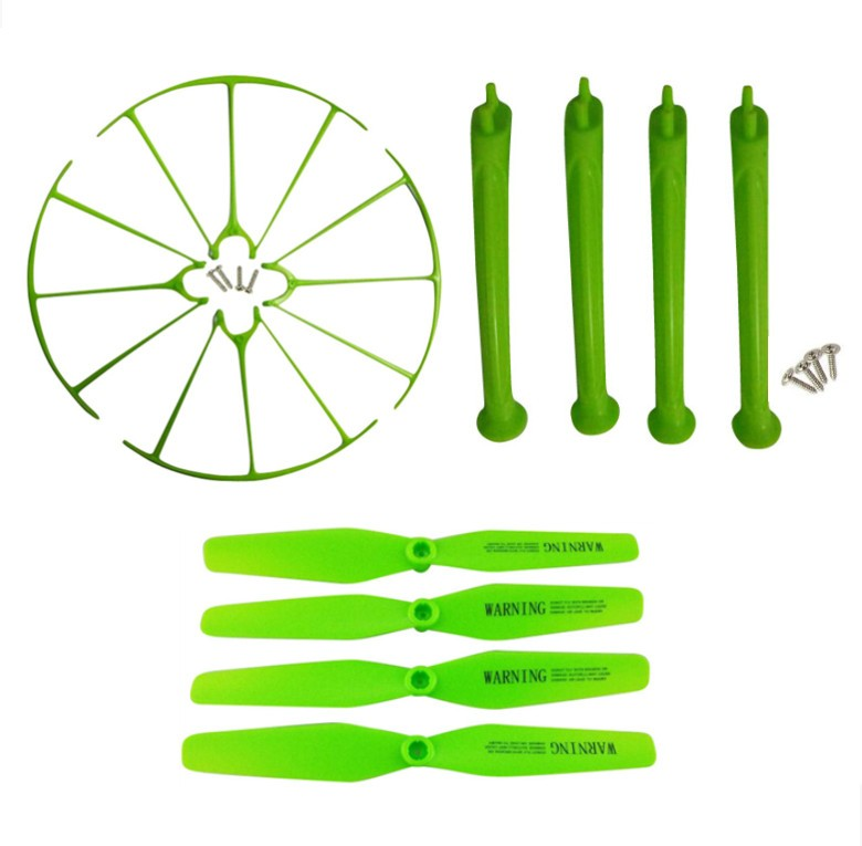 SYMA New X5H X5HC X5HW axis WIFI UAV landing gear parts tripod blade propeller protection ring protective sleeve