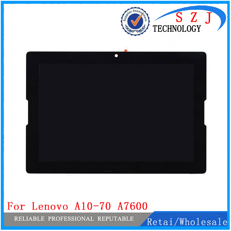 New 10.1'' inch For Lenovo A7600 A7600-F A7600-H LCD Display+Digitizer Touch Sreen Glass Panel Assembly Replacement + Frame 100% original for samsung galaxy note 3 n9005 lcd display screen replacement with frame digitizer assembly free shipping