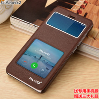 Top Quality 7 Colors For Xiaomi Red Rice Redmi Note 2 Note2 Famous Brand Leather Flip