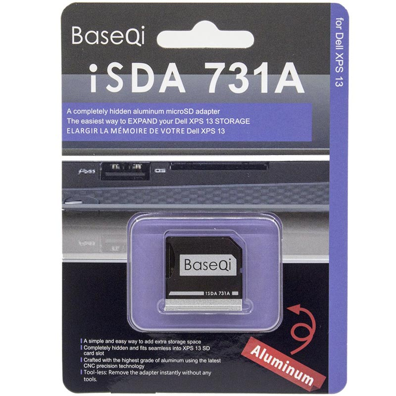 """Image 5 - BaseQi card reader Adapter For Dell XPS 13"""" mercedes benz adaptador ssd Mini Card Drive Adapter hard disk usb para movil-in Memory Card Adapters from Computer & Office"""