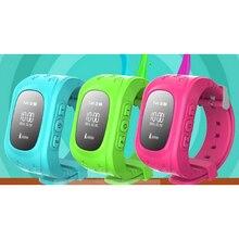 1pc 2017 new fashion children kids Bluetooth smart watch adult smart wristband bracelet alarm hour GPS LED display gift H3