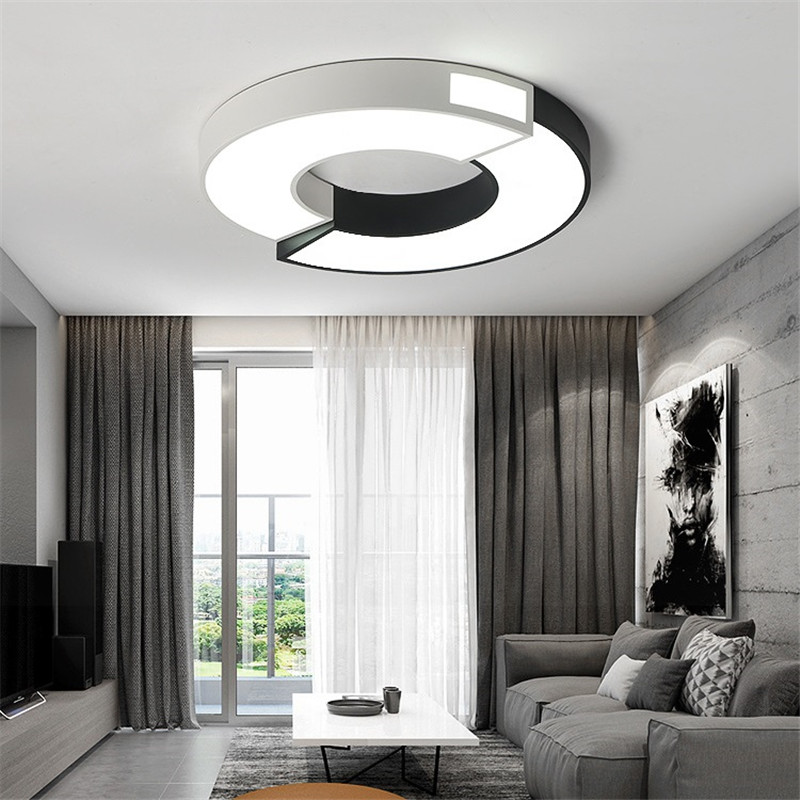 2019 Modern Living Room Lighting Simple Rectangular Square Ceiling Lamp  Acrylic LED Dimming Home Book Room Bedroom Lamp From Ishopcauto, $159.8 |  ...