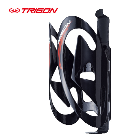 TRIGON BC06 porte-bidon vélo ultra léger en fibre de carbone support de bouteille réglable finition carbone brillant porte-bouteille 40g