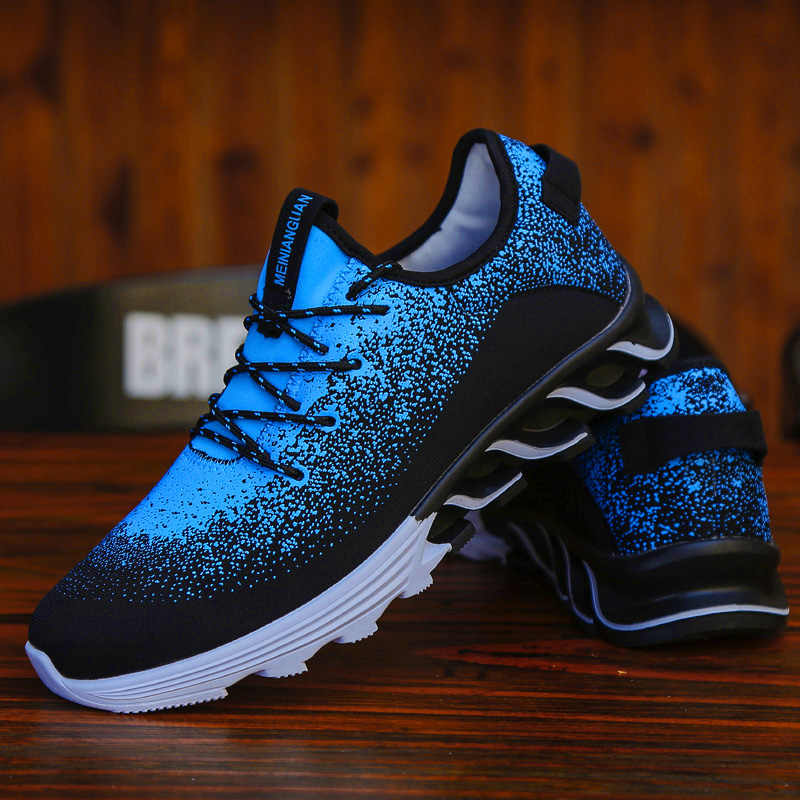 Men's Casual shoes youth leisure travel shoes running breathable mesh sport men sneakers flat outdoor footwear
