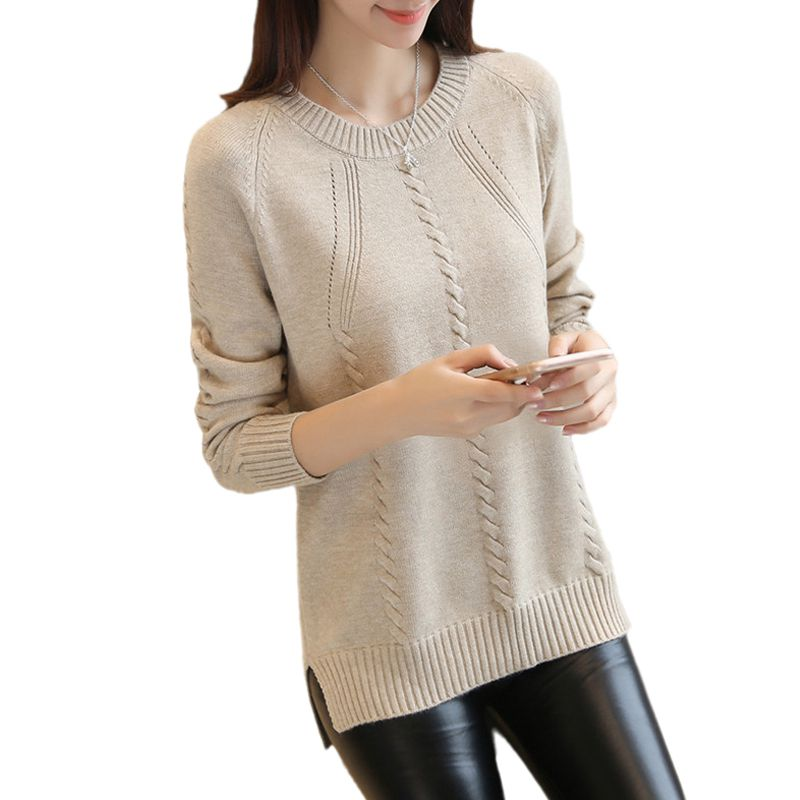6a512dc2debd 2019 Otoño de las mujeres suéter prendas de vestir exteriores nuevo ...