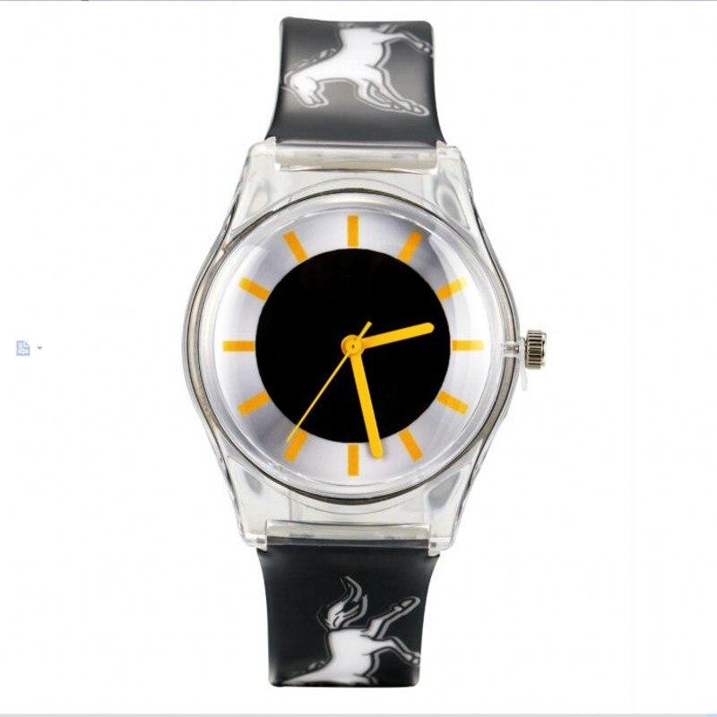 New horse desigh watch luxury brands Quartz Watch Women kids WristWatches Fashion quartz watch Clock Relogio Feminino kol saati
