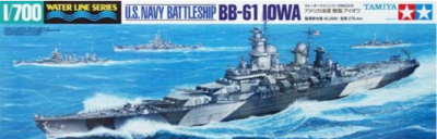 Assembly Model 1:700 American Navy BB-61 Battleship A Hua 31616 trumpeter ships model 05316 german pocket battleship graf spey