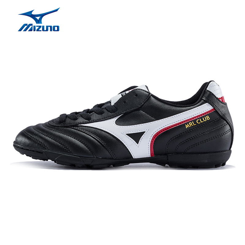 MIZUNO 2016 Men's Sports Beathable Cushioning Soccer Shoes MRL CLUB AS Light Sport Shoes Sneakers12KT-38401 YXZ008 tiebao soccer sport shoes football training shoes slip resistant broken nail professional sports soccer shoes