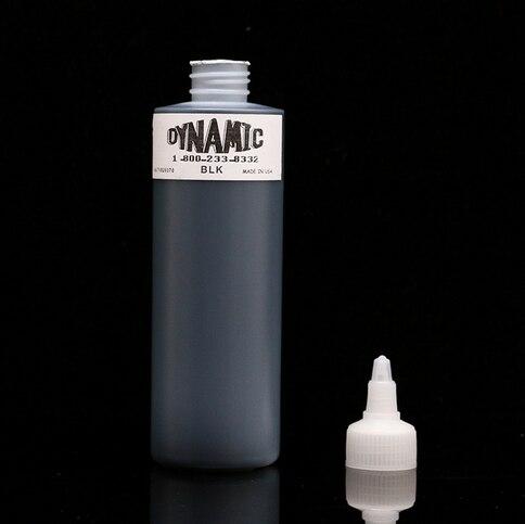 Nueva tinta del tatuaje 1-Bottle 250ML forrada y sombreada Tribal Liner Shader Pigment Black DynamicNueva tinta del tatuaje 1-Bottle 250ML forrada y sombreada Tribal Liner Shader Pigment Black Dynamic