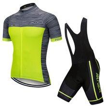 Лето Велоспорт Джерси комплект Мужская одежда короткая езда велосипед Велоспорт одежда Костюмы спортивные майки по индивидуальному заказу/ услуги