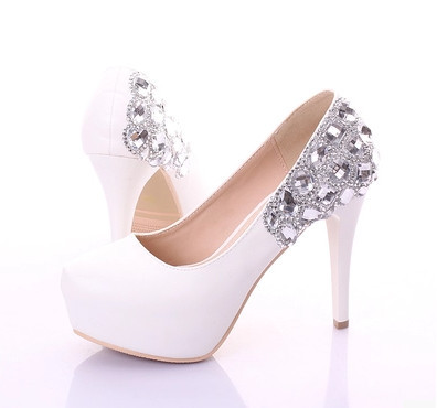 Popular Diamond Wedding Shoes-Buy Cheap Diamond Wedding Shoes lots ...
