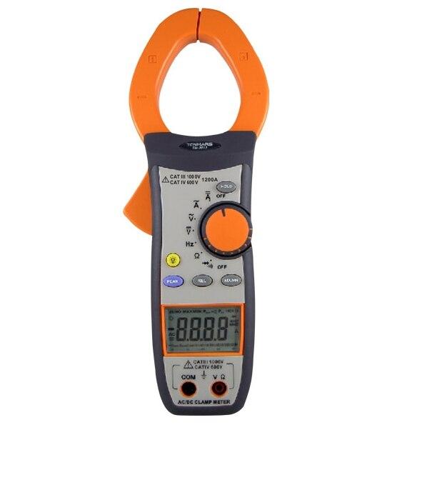 Лидер продаж Высокая точность AC/DC Токоизмерительные Портативный 3 3/4 цифровой ЖК дисплей подсветкой Дисплей с максимальной чтения 4000 инстру