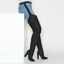 Online Get Cheap Overknee Stiefel Kostenloser Versand