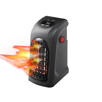 Portable Wall Outlet Electric Heater Handy Air Heater Warm Air Blower Room Fan Electric Radiator Warmer