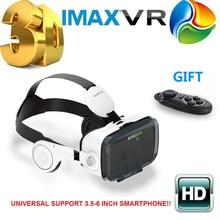 2016ใหม่ล่าสุดเดิมBOBOVR Z4แว่นตา3D VRชุดหูฟังความเป็นจริงเสมือน3Dวิดีโอเกมส่วนตัวโรงละครที่มีหูฟัง+ควบคุม