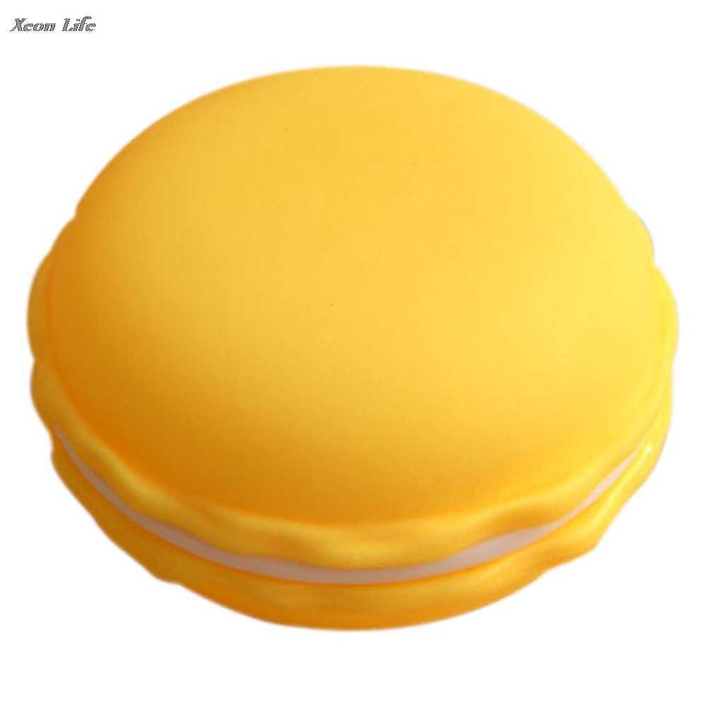 מכירה לוהטת חדש אופנה 1pc 10*5cm אוזניות SD כרטיס חמוד Macarons תיק גדול אחסון תיבת נשיאת פאוץ חם 2017