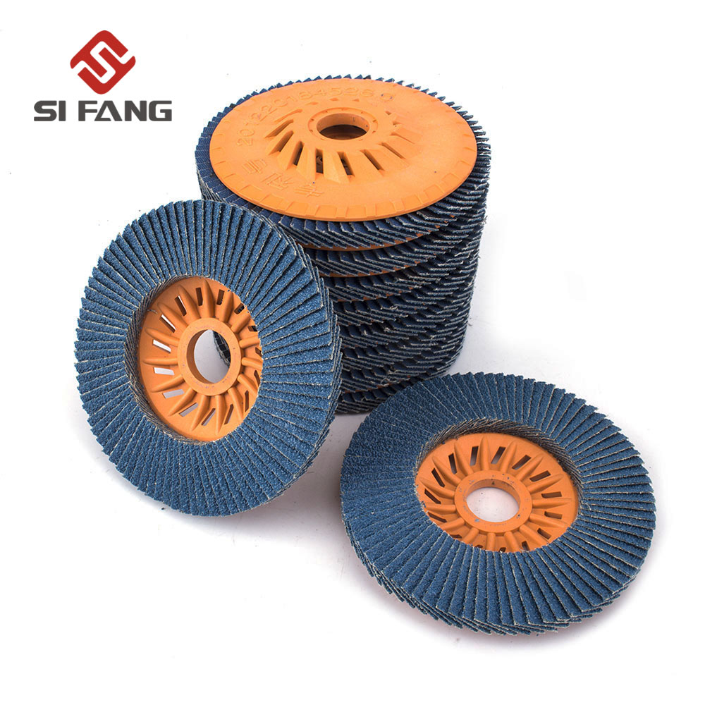 125x22mm 2/5/10Pcs Flap Disc Grinding Wheel For Stainless Steel Metal Wood