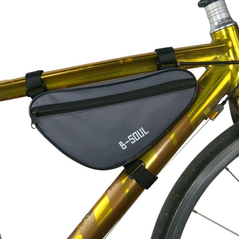 Radtasche Dreiecke Tasche Rahmentasche Werkzeugtasche Fahrrad Draußen