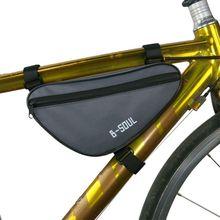Bolsa de marco para bicicleta, bolsas triangulares para bicicleta, accesorios para bicicleta, necesaria para montar