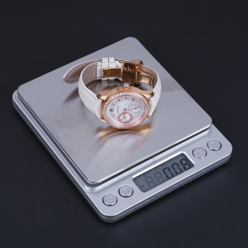 VKTECH 500gx0.01g/3kgx0.1g Aluminum Alloy Case Digital Gram Pocket Electronic Jewelry Scale Weight Kitchen Bench Weight