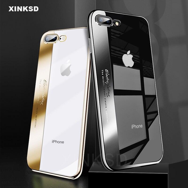 marca-de-luxo-galvanoplastia-macio-tpu-ultra-slim-casos-de-telefone-para-o-iphone-7-8-6-6-s-x-capa-silicone-case-voltar-para-o-iphone-7-8-alem-de