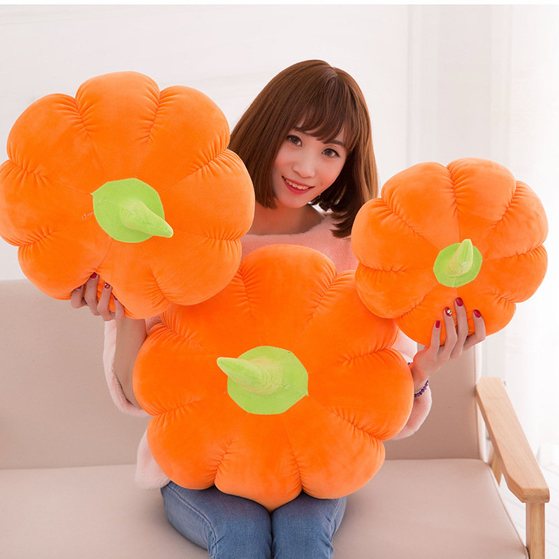 Novelty & Special Use Fast Deliver 30/35/45cm Children Soft Pumpkin Plush Stuffed Toys Kids Girl Halloween Doll Kawaii Vegetable Pillow Cushion Baby Bed Decoration Exotic Apparel