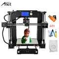 Anet A6 автоматическое выравнивание высокой точности 3d принтер Reprap i3 DIY Impresora 3D комплект Micro SD карта 3d принтер
