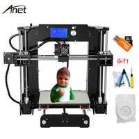 Anet A6 A6L Automatic Leveling High Precision 3D Printer Reprap i3 DIY Impresora 3D Kit Micro SD Card 3D Printer