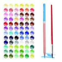 72 Colored Pencils Watercolor Stationery Pen Set HERO Drawing Color Pencil Roll Up Canvas Pencil Case