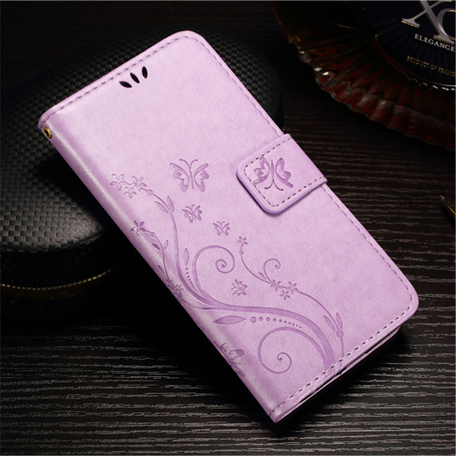 Dirt-Resistant Floral Fitted Phone Cover