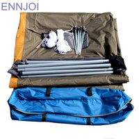 Anti UV Sunshelter Camping Tent Outdoor Beach Tent Cloth Large Space Sunshelter for Fishing,Hiking and Family Party
