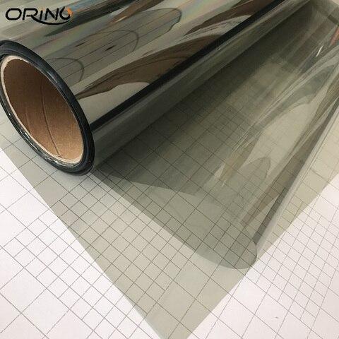 filme vidro com tinta para janela de carro 50cm x 500cm cinza vlt 70 rolo