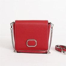 Новое поступление красивые Стиль Для женщин Мода закрылков сумка Разделение кожа Сумка Элитный бренд Дизайн цепь сумка через плечо для девочек