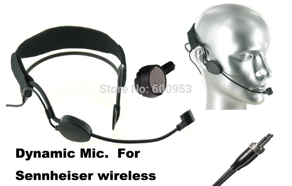 High Qulity Black DYNAMIC Headset Head Microphone For S E NN HEI SER G1 G2  G3