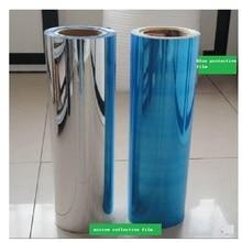 """50 ס""""מ * 2 M אור UV עמיד למים מדבקות מראה כסוף רעיוני לחיות מחמד רוחב סרט אטום"""