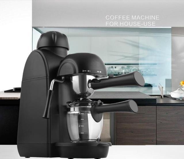 Espresso Machine Keurig Coffee Maker High Pressure Steam Italian Household Cuccino Milk