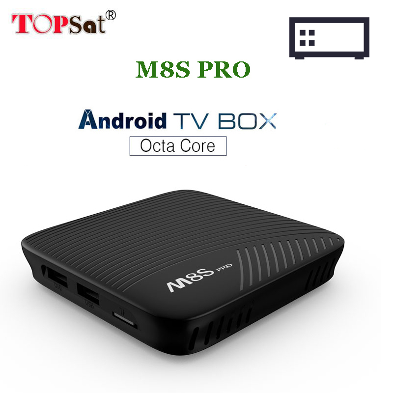M8S PRO android tv box Amlogic S912 Octa Core CPU media Player BT 4.1 Wifi 4K H.265 M8Spro Set Top Box PK X96 mini x92 4k android 7 1 smart tv box amlogic s912 octa core h 265 wifi ram 2g 3g set top box media player pk x96 tv box
