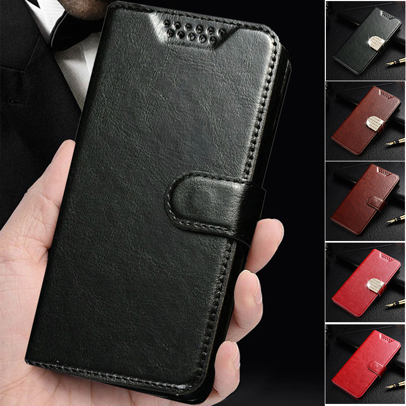 Flip Leather <font><b>Case</b></font> <font><b>for</b></font> <font><b>Alcatel</b></font> One Touch <font><b>Pop</b></font> <font><b>4</b></font> <font><b>5051D</b></font> 5051J <font><b>Pop</b></font> <font><b>4</b></font> Plus 5056 <font><b>Pop</b></font> 5056D Shine Lite OT 5080 Coque Cover image